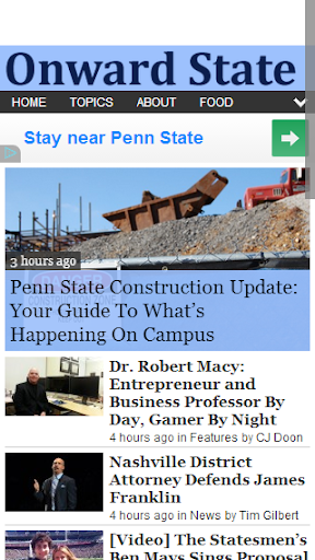 【免費新聞App】Onward State-APP點子