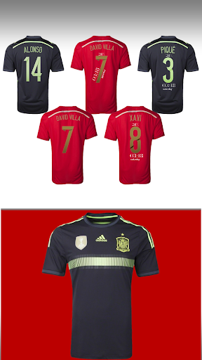 Spain 2014 Jersey Pack - uccw