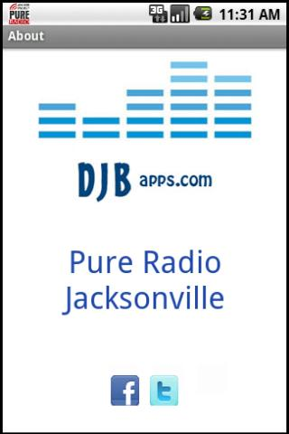 Pure Radio - screenshot