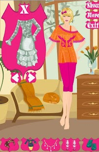 Charming Girl Dress Up Game - screenshot thumbnail