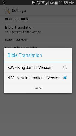Daily Bible Verse 2.05 screenshot 303863
