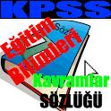 KPSS Eğitim Bilimleri Sözlüğü logo
