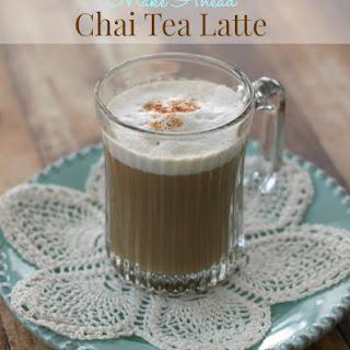 Chai Tea Latte - Make Ahead!