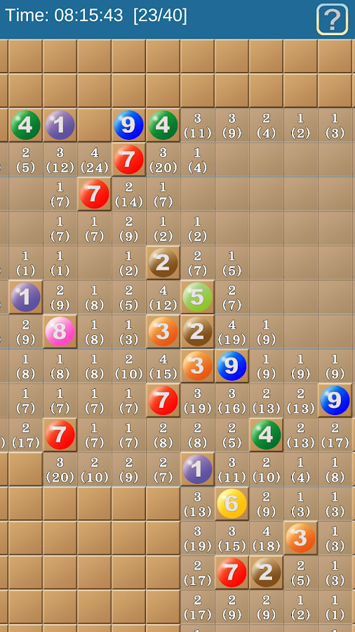 Number Sweeper- screenshot