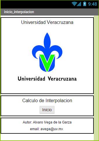 Interpolacion Lineal U.V.