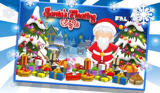 Santa Floating Gifts HD
