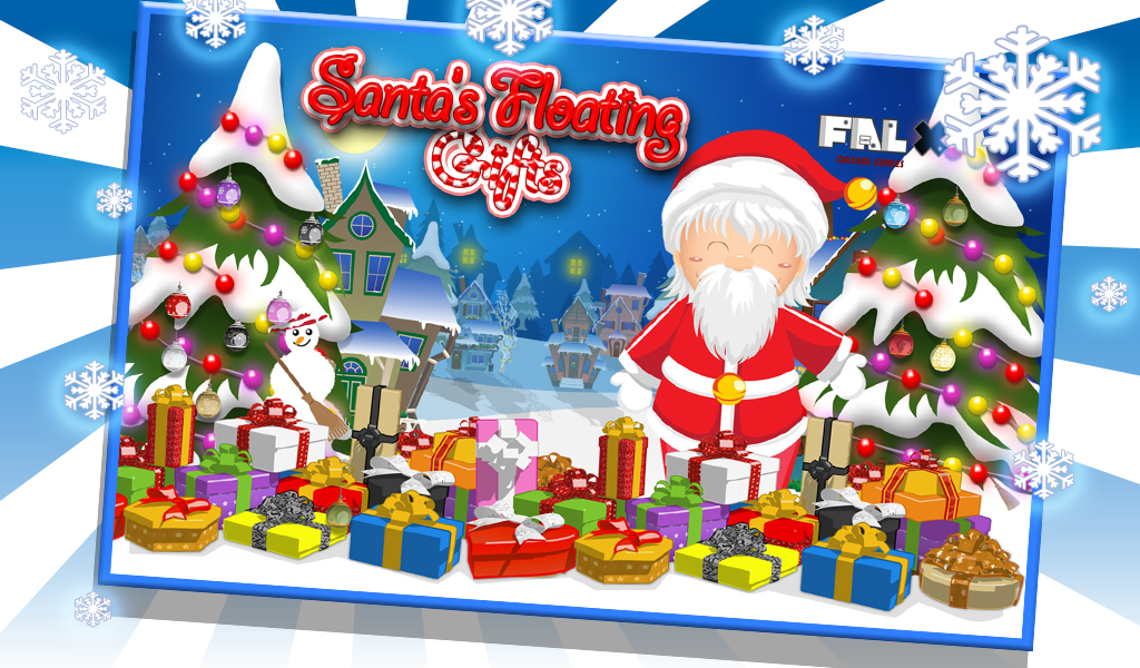 Santa Floating Gifts HD- screenshot