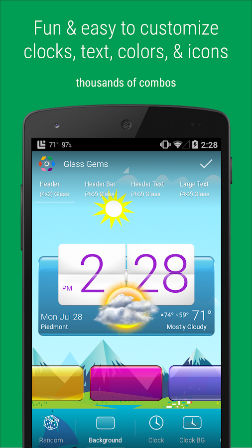 HD Widgets- screenshot
