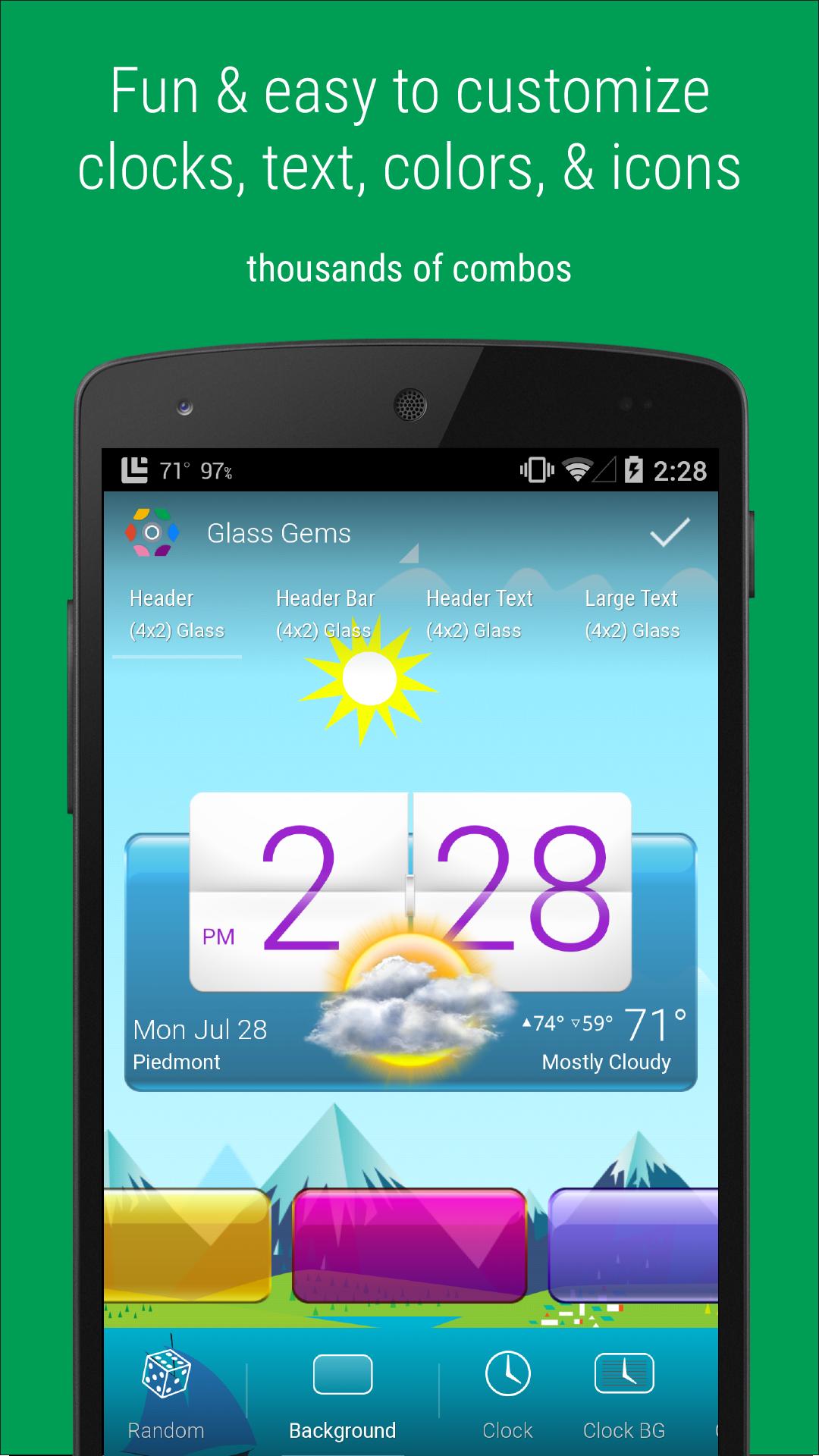 HD Widgets screenshot #1