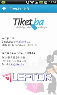 Tiket.ba- screenshot thumbnail
