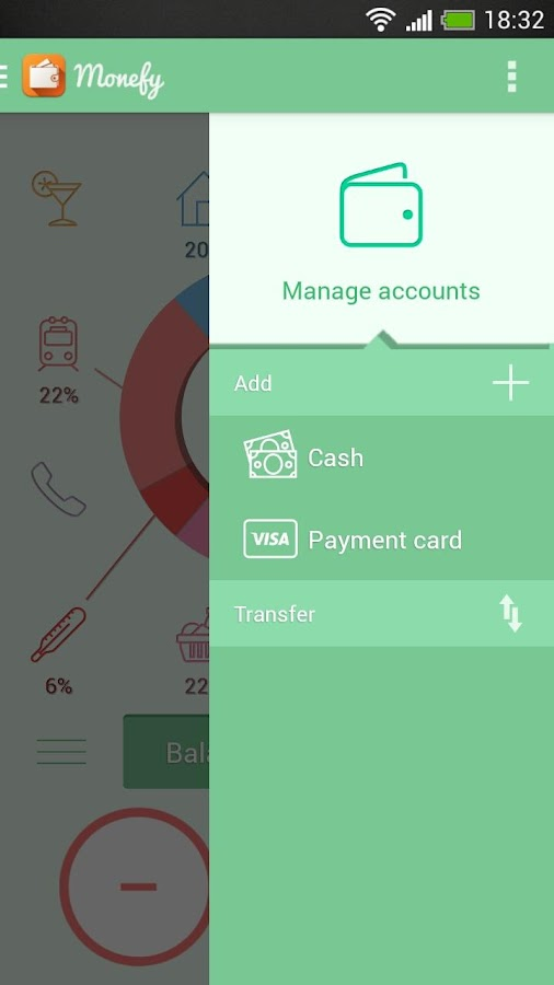 Monefy - Money Manager- screenshot