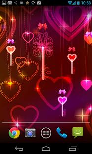 valentine's Day Live Wallpaper screenshot