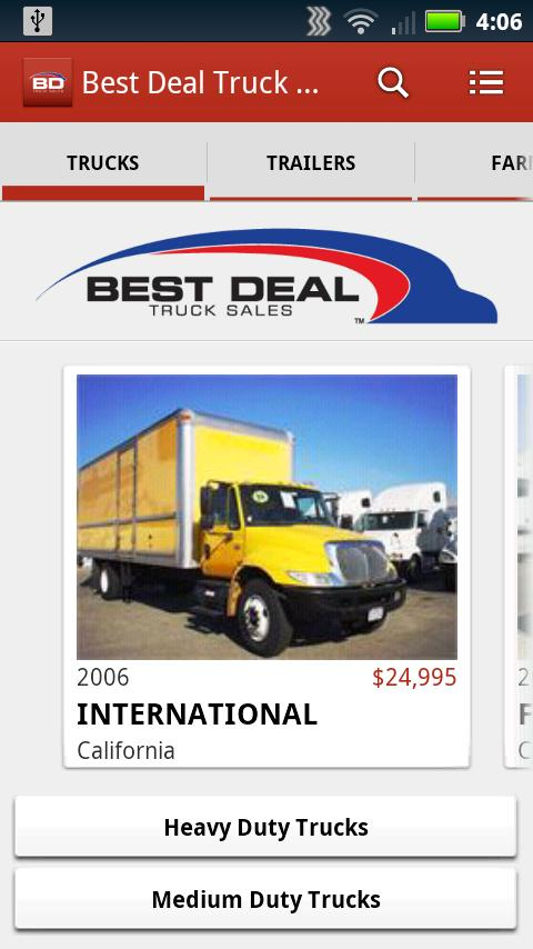 Best Deal Truck Sales - screenshot