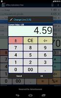 Screenshot of Office Calculator Free