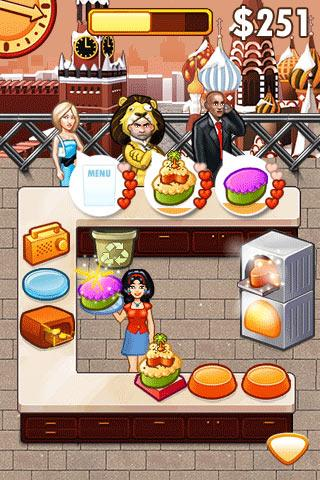 Cake Mania Celebrity Chef Lite - screenshot