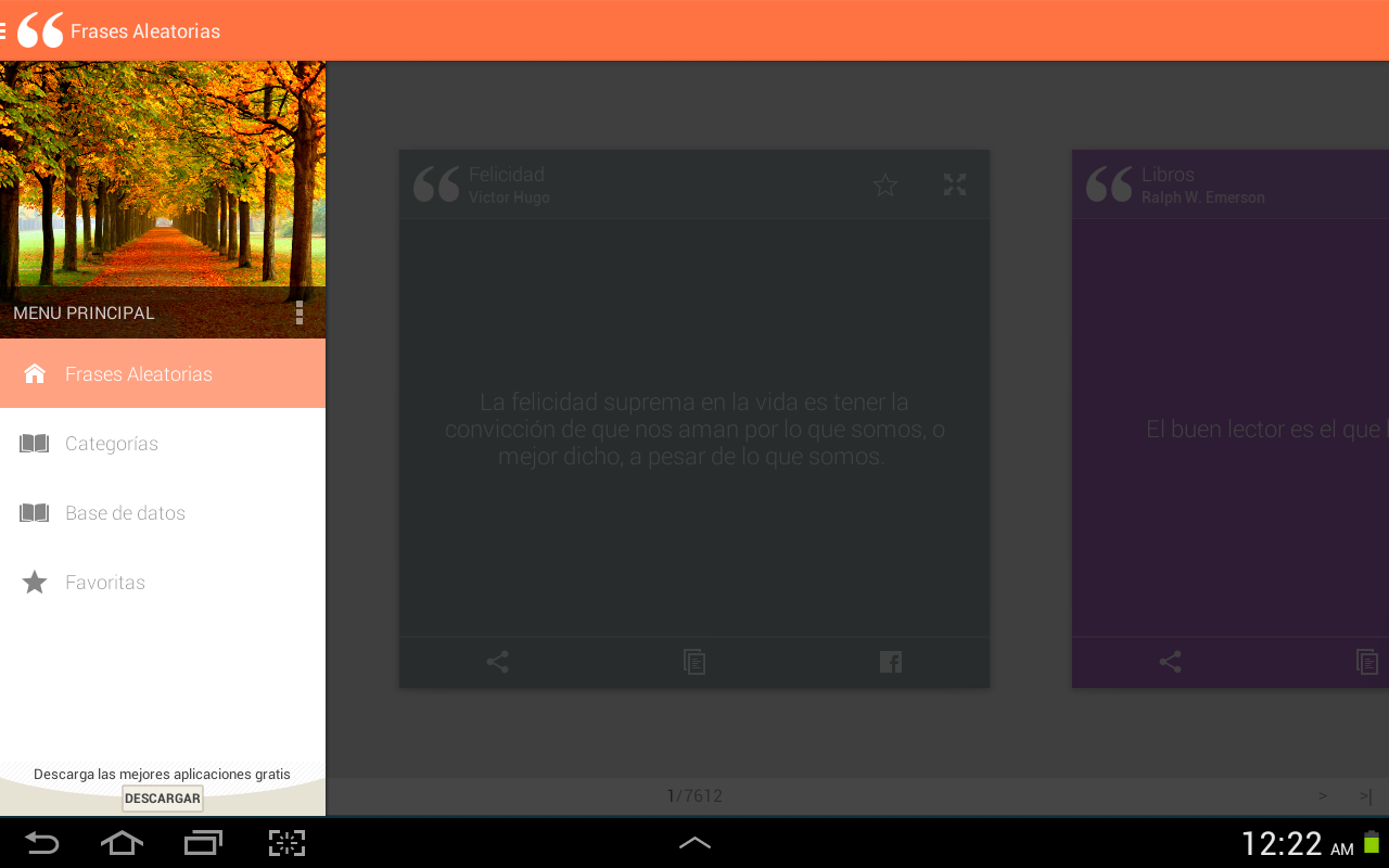 QuoteBook: Spanish Quotes- screenshot