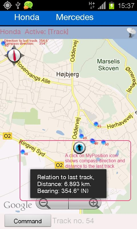 EasyGpsTracker - screenshot