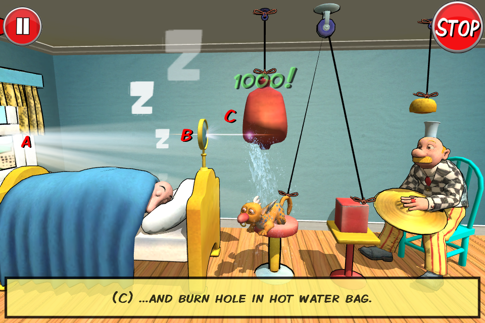Rube Works: Rube Goldberg Game - screenshot