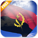 3D Angola Flag Live Wallpaper icon