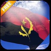 3D Angola Flag LWP