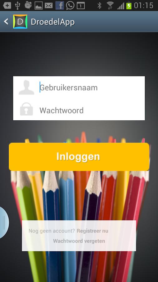 Droedel App - screenshot