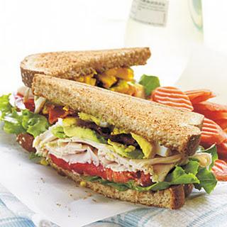 Turkey Cobb Sandwiches.