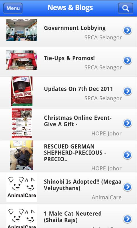 PetFinder.my - screenshot