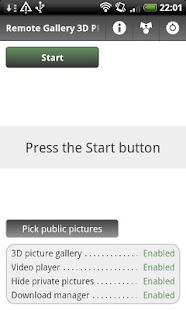 Remote Gallery 3D PRO- screenshot thumbnail