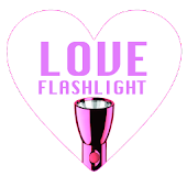 Love Pink FlashLight