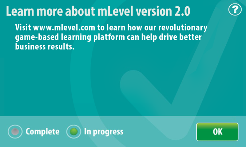 mLevel- screenshot
