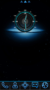 BlueLight Clock Widget