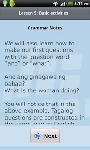 L-Lingo Learn Tagalog Pro - screenshot thumbnail