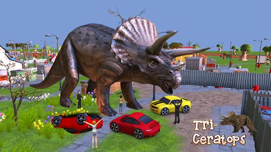 triceratops 3d dinosaur sim screenshot thumbnail