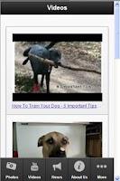 Screenshot of Dog Training Secrets