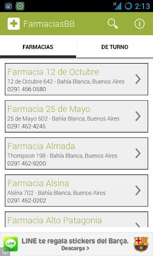 Farmacias de Bahía Blanca