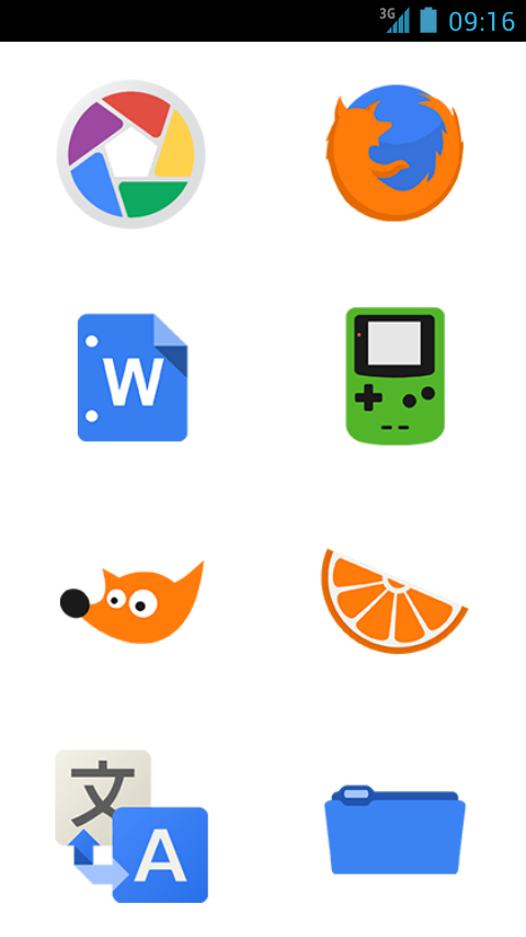 BL Plex & Kennedy Icon Pack- screenshot