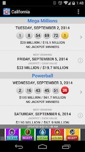 Lotto Results - Lottery Games - screenshot thumbnail