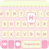 Lovely girl Theme for Keyboard