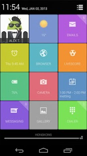 UCCW Theme - Grids - screenshot thumbnail