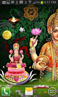 Screenshot of Maa Lakshmi HQ Live Wallpaper