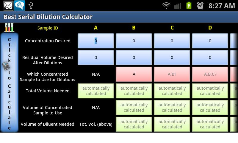 Best Serial Dilution Calc - screenshot