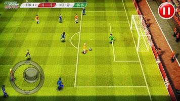 Screenshot of Striker Soccer Euro 2012 Pro