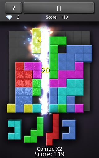 10x10 Cubetris