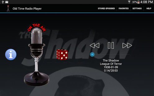 Old Time Radio Player (no ads)- screenshot thumbnail
