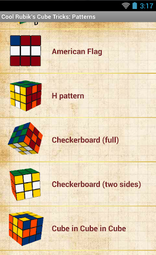 Cool Rubik's Cube Tricks