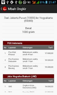 Mbah Ongkir - screenshot thumbnail