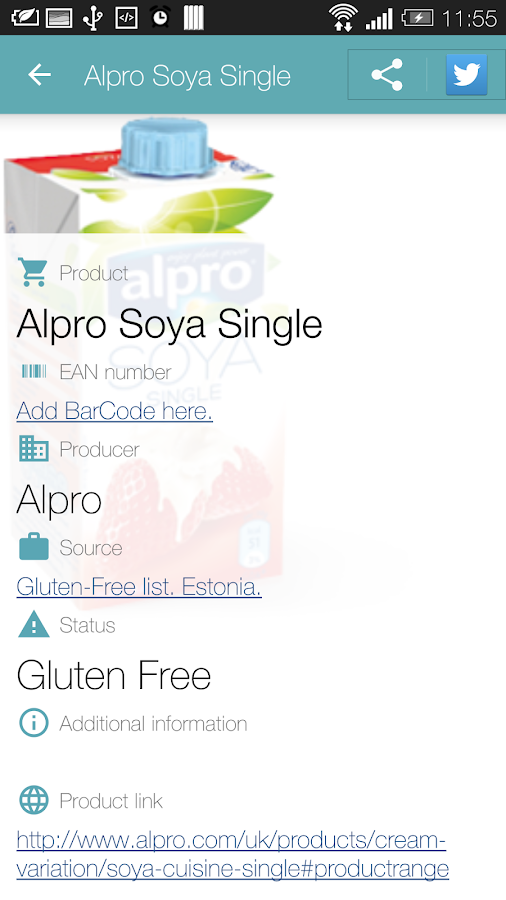 Is It Gluten Free?- screenshot