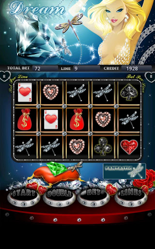 Diamond Dream Slot Machine HD Screen Capture 1