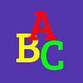 Baby Alphabet ABC Flashcard