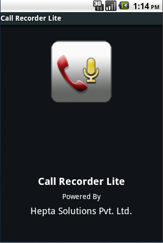 Call Recorder Lite System